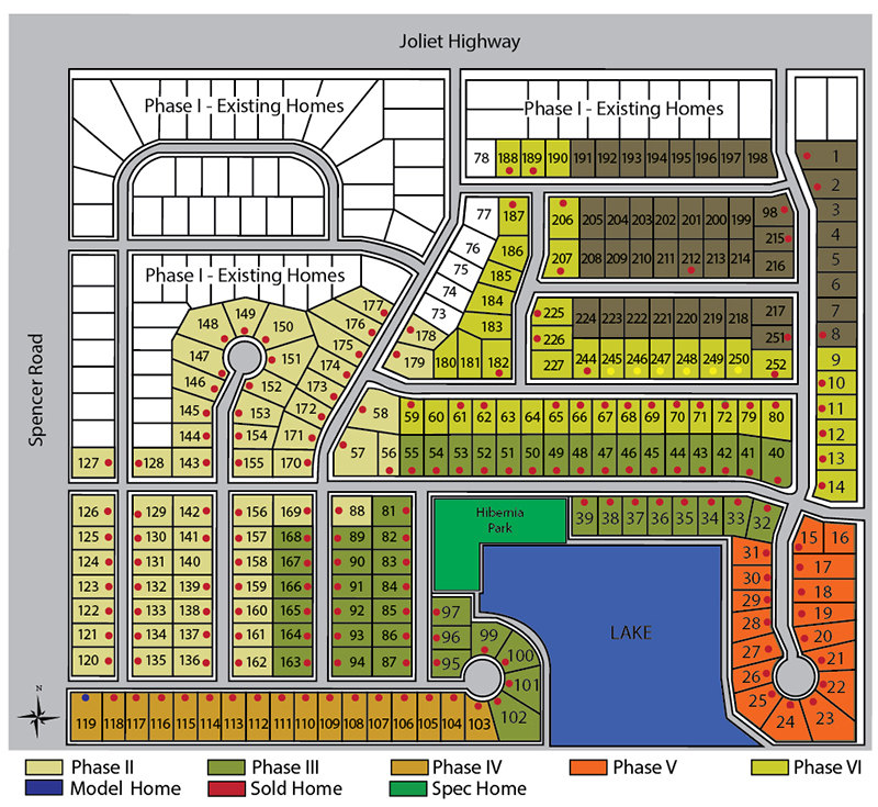 Shannon Estates Site Plan