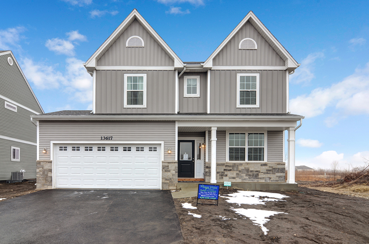 New home communities new construction homes for New construction ranch style homes in illinois